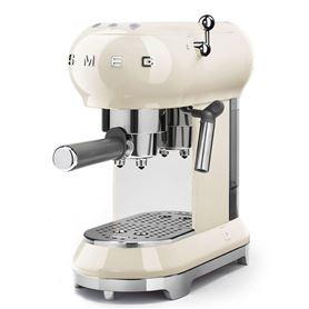 Cafetera express Smeg ECF01CREU Crema - SMEECF01CREU