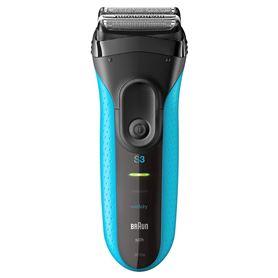 Máquina de afeitar Braun 3010 Azul - BRAUN 3010 SERIE 3