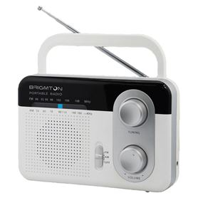 RADIO AM/FM RED BRIGMTON BT-250 B BLANCO - BRIGMTON BT-250 B BLANCO