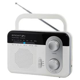Radio Red Brigmton BT-250B AM/FM Blanco - BRIGMTON BT-250 B BLANCO