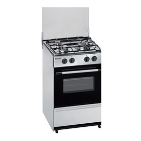 Cocina de gas Meireles G1530DVX Acero Inoxidable Gas Natural - MEIRELES G1530DVXNAT