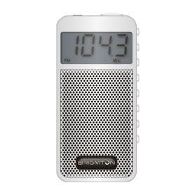 RADIO AM/FM DIGITAL ALTAVOZ MEMORIAS BRIGMTON BLANCO - MEMORIAS BRIGMTON BLANCO