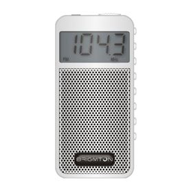 Radio AM/FM Digital Brigmton Altavoz Memoria Blanco - MEMORIAS BRIGMTON BLANCO