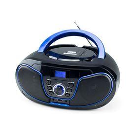 Radio Daewoo DBU-62BL CD MP3 USB FM Azul - DAEWOO DBU-62BL