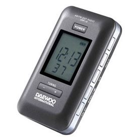 Radio Digital Daewoo DRP-18 Pantalla LCD Compacta Negra - DAEDBF036-01_13