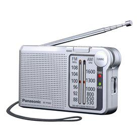 RADIO BOLSILLO PANASONIC RF-P150DEG-S PLATA - PANASONIC RF-P150DEG-S PLATA