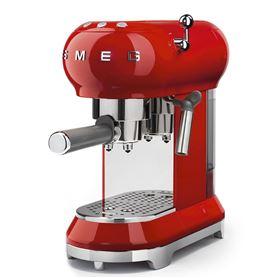 Cafetera express Smeg ECF01CREU Roja - SMEG ECF01RDEU