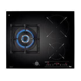 Placa Twin Teka IG 620 1G AI AL DR CI 1 Zona gas + 2 Zonas Inducción Butano - TEK40213010-01_2