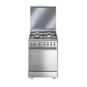 Cocina a Gas Smeg CX68M8-1 Inox - SMEG CX68M8-1