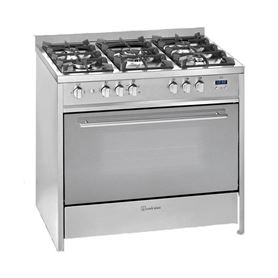 COCINA GAS BUT. 5Z INOX MEIRELES G910X 90CM - EIRELES G910X