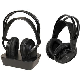 Auriculares Inalámbricos Panasonic RP-WF830WE-K Dobles para Televisión - PANASONIC RPWF830