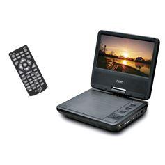 DVD PORTÁTIL 7´ USB/SD/FUNDA CABEZAL/CARGADOR RED+CAR - CARGADOR RED+CAR