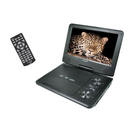 DVD PORTÁTIL 9´ USB/SD/FUNDA CABEZAL/CARGADOR RED+CAR - CARGADOR RED