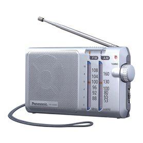 RADIO BOLSILLO PANASONIC RF-U160DEG-S PLATA - PANASONIC RF-U160DEG-S PLATA