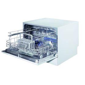 Lavavajillas Compacto Sobremesa Teka LP2 140 Blanco 6 Servicios 6 Programas - TEKA LP2 140