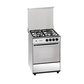 COCINA GAS BUT. INOX 3Z MEIRELES G603X 60CM+HORNO GAS - MEIRELES G603X
