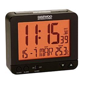 Reloj Despertador Digital Daewoo DCD-200 Negro - DAEDBF120-01