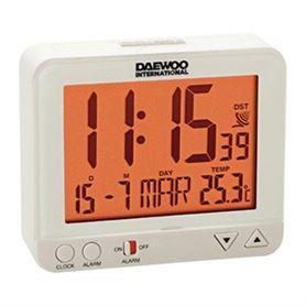 Reloj Despertador Digital Daewoo DCD-200 Blanco - DAEDBF121