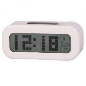 Reloj Despertador Digital Blanco Daewoo DCD-24-W - DAEDBF016