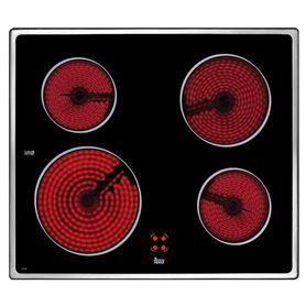 Vitrocerámica polivalente Teka VTCB 10204072 4 Zonas Acero Inoxidable - POLIV.TEKA VTC B INOX.